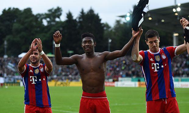 Preussen Muenster v FC Bayern Muenchen - DFB Cup / Bild: (c) Bongarts/Getty Images (Lars Baron)