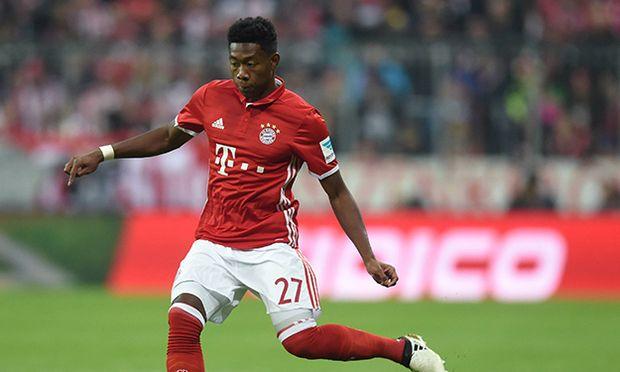 David Alaba oesterreichischer Verteidiger des FC Bayern Muenchen aufgenommen im Stadion in Muenche / Bild: (c) imago/fossiphoto (imago sportfotodienst)