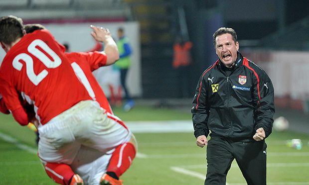 SOCCER - UEFA U21 EURO quali, AUT vs FIN / Bild: (c) GEPA pictures/ Martin Hoermandin
