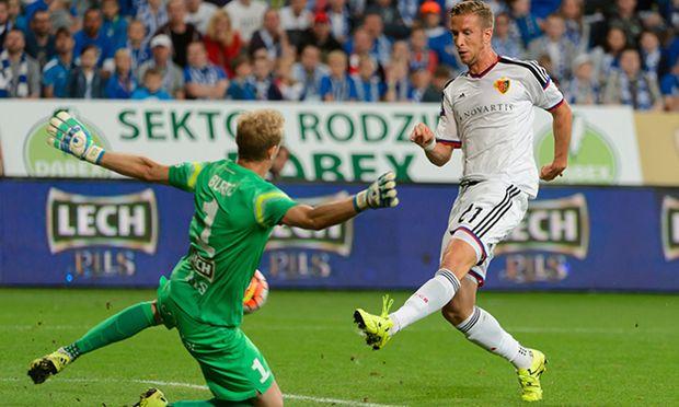 Janko wurde eingewechselt und traf in der 77. Minute / Bild: (c) APA (epa)/Jakub Kaczmarczyk (Jakub Kaczmarczyk)