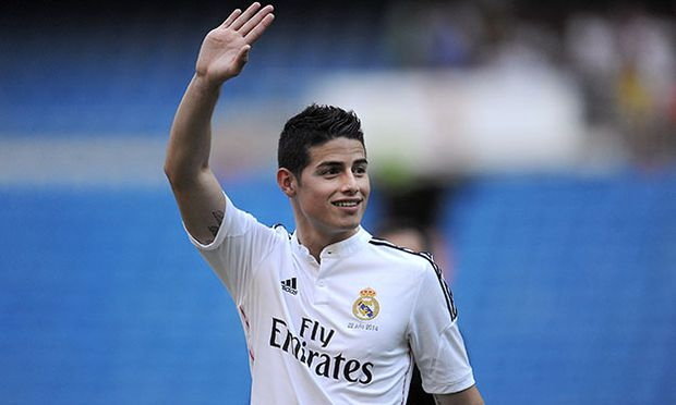 James Rodriguez Officially Unveiled At Real Madrid / Bild: (c) Getty Images (Denis Doyle)