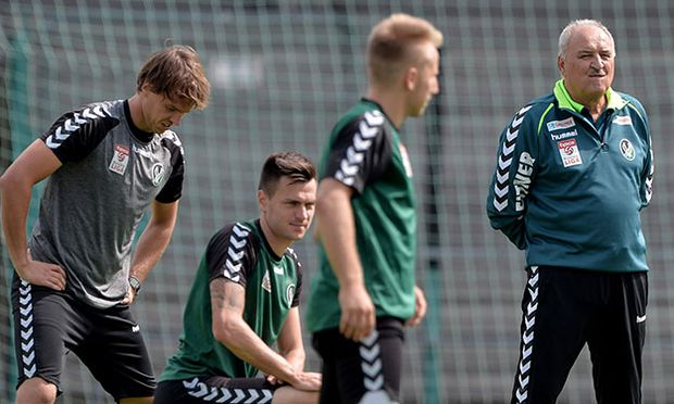 SOCCER - BL, Ried, training and press conference / Bild: (c) GEPA pictures/ Florian Ertl