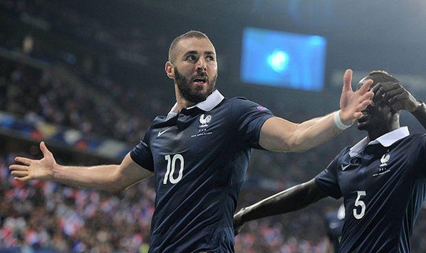 Nice France 8th October 2015 International Friendly Länderspiel France vs Armenia Karim Benzema cel / Bild: (c) imago/Richard Wareham (imago sportfotodienst)