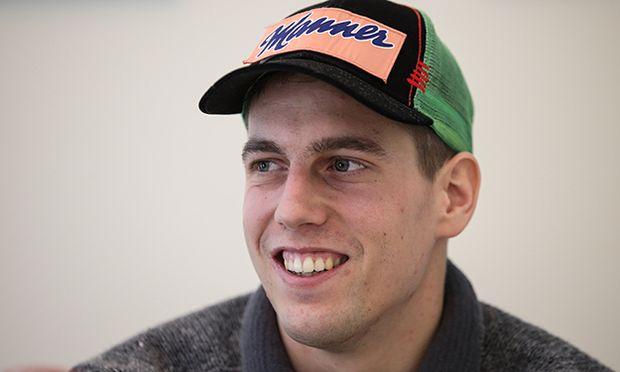 SKI JUMPING - Lukas Mueller, press conference / Bild: (c) GEPA pictures/ Daniel Goetzhaber