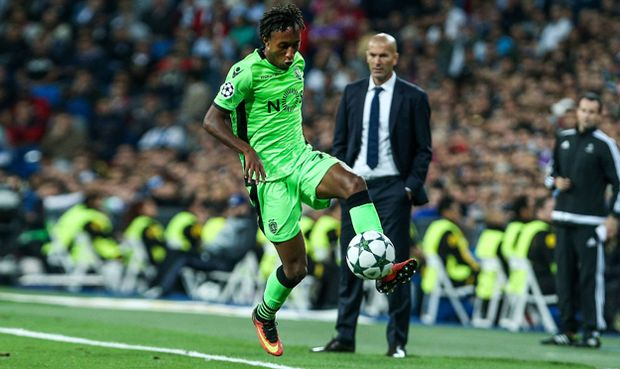 Sporting Clube de Portugal s Gelson Martins during the match of Champions League group 6 round 1 be / Bild: (c) imago/Alterphotos (imago sportfotodienst)