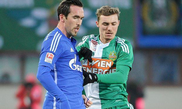 SOCCER - Rapid vs Schalke, test match / Bild: (c) GEPA pictures/ M. Hoermandinger