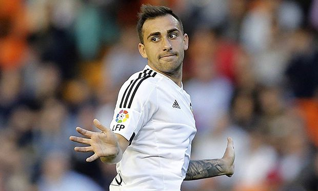 Valencia FC s striker Paco Alcacer during their Spain s Primera Division Liga soccer match against R / Bild: (c) imago/Agencia EFE (imago sportfotodienst)