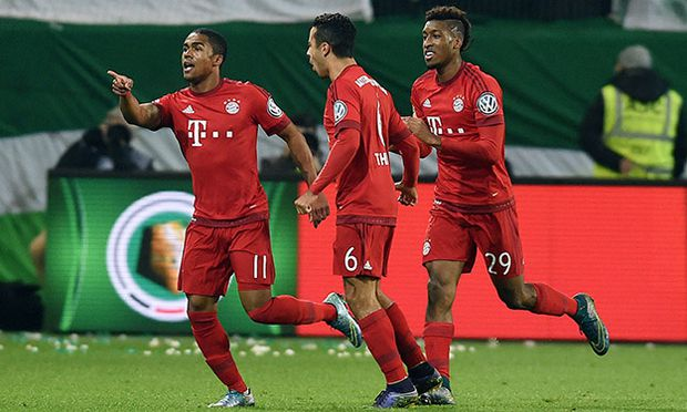 SOCCER - DFB Pokal, Wolfsburg vs Bayern / Bild: (c) GEPA pictures/ Witters