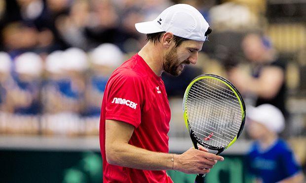 TENNIS - ITF, Davis Cup, SWE vs AUT / Bild: (c) GEPA pictures/ Matthias Hauer