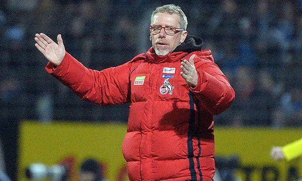 27 11 2015 xpsx Fussball 1 Bundesliga SV Darmstadt 98 1 FC Köln emspor v l Trainer Peter Sto / Bild: (c) imago/Jan Huebner (imago sportfotodienst)