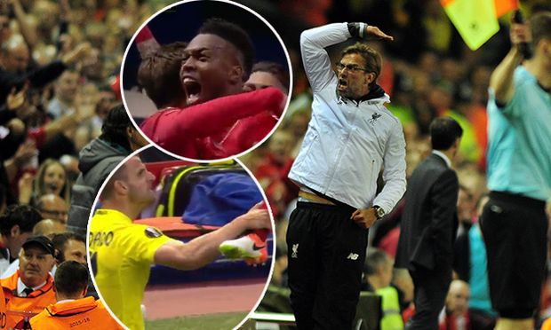 Football 2015 2016 Europa League Semi Final Second Leg Liverpool 0 Villarreal CF 1 Liverpool / Bild: (c) imago/Colorsport (imago sportfotodienst)