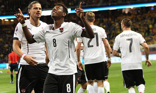 SOCCER - UEFA EURO 2016 quali, SWE vs AUT / Bild: (c) GEPA pictures/ Christian Ort