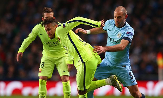 Manchester City v Barcelona - UEFA Champions League Round of 16 / Bild: (c) Getty Images (Alex Livesey)