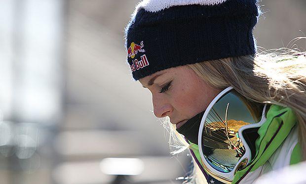 ALPINE SKIING - training Lindsey Vonn / Bild: (c) GEPA pictures/ Andreas Pranter