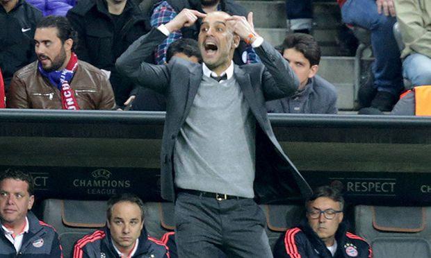 GER UEFA CL FC Bayern Muenchen GER vs Atletico Madrid ESP 03 05 2016 Allianz Arena Muencen / Bild: (c) imago/Nordphoto (imago sportfotodienst)