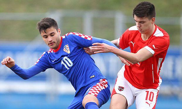 SOCCER - UEFA U19 EURO quali, AUT vs CRO / Bild: (c) GEPA pictures/ Ch. Kelemen