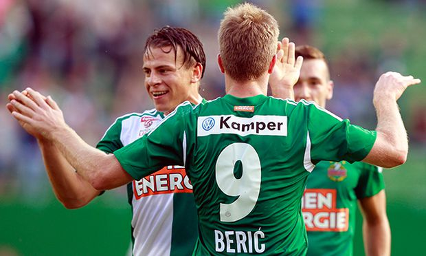 SOCCER - BL, Rapid vs WAC / Bild: (c) GEPA pictures/ Josef Bollwein