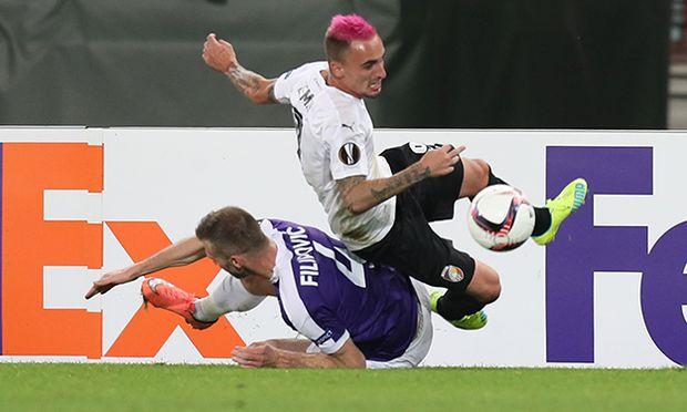 SOCCER - UEFA EL, A.Wien vs Plzen / Bild: (c) GEPA pictures/ Christian Ort