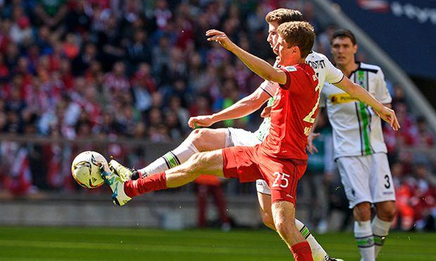 SOCCER - 1. DFL, Bayern vs Gladbach / Bild: (c) GEPA pictures/ Hans Osterauer