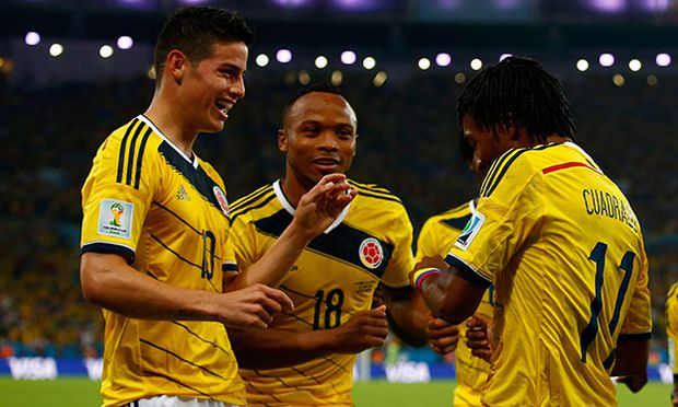 Colombia v Uruguay: Round of 16 - 2014 FIFA World Cup Brazil / Bild: (c) Getty Images (Clive Rose)