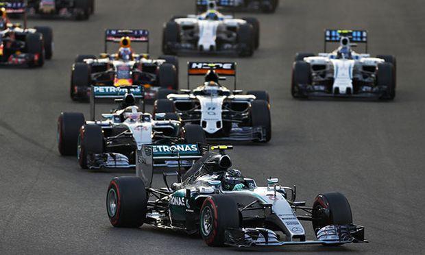 Yas Marina Circuit Abu Dhabi United Arab Emirates Sunday 29 November 2015 Nico Rosberg Mercede / Bild: (c) imago/LAT Photographic (imago sportfotodienst)