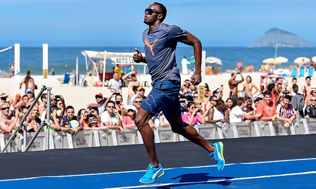 Mano a Mano Athletics Challenge with Usain Bolt / Bild: (c) Getty Images (Buda Mendes)