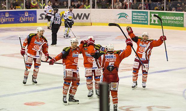ICE HOCKEY - EBEL, KAC vs Dornbirn / Bild: (c) GEPA pictures/ Matic Klansek