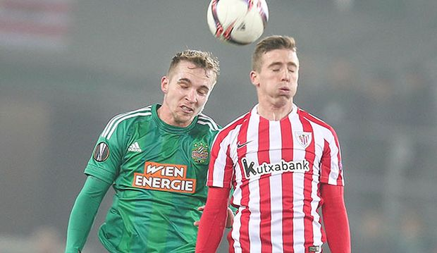 SOCCER - UEFA EL, Rapid vs Bilbao / Bild: (c) GEPA pictures/ Patrick Leuk