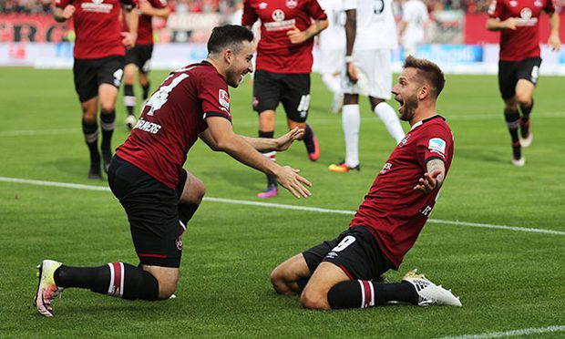 Fussball 2 BL 2 Bundesliga Saison 2016 2017 Herren Deutschland 23 10 2016 1 FC Nürnberg / Bild: (c) imago/Bernd Müller (imago sportfotodienst)