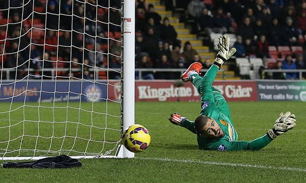Manchester United ManU goalkeeper Victor Valdes BPI_MW_ManUtdU21_ChelseaU21_17 jpg PUBLICATIONxNOTx / Bild: (c) imago/BPI (imago sportfotodienst)