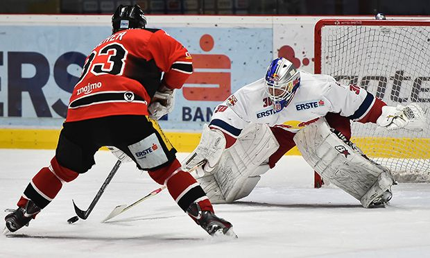 ICE HOCKEY - EBEL, Znojmo vs EC RBS / Bild: (c) GEPA pictures/ M. Hoermandinger