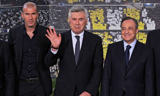 Carlo Ancelotti New Real Madrid Manager Press Conference and Photo Call / Bild: (c) Getty Images (Denis Doyle)