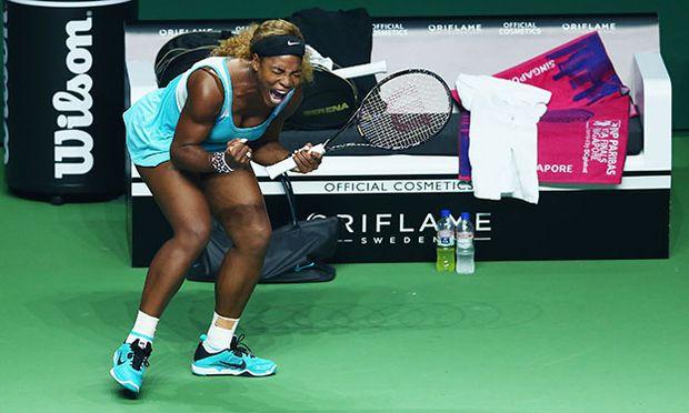 BNP Paribas WTA Finals: Singapore 2014 - Day One / Bild: (c) Getty Images (Clive Brunskill)