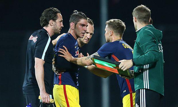 SOCCER - CL, quali, Tirana vs RBS / Bild: (c) GEPA pictures/ Felix Roittner