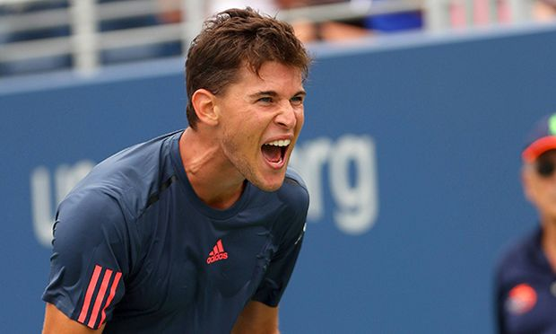Dominic Thiem of Austria frustrated during the US Open 2016 at the Billie Jean King Tennis Centre Q / Bild: (c) imago/BPI (imago sportfotodienst)