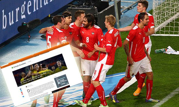 SOCCER - AUT vs BRA, friendly match / Bild: (c) GEPA pictures/ Christian Ort