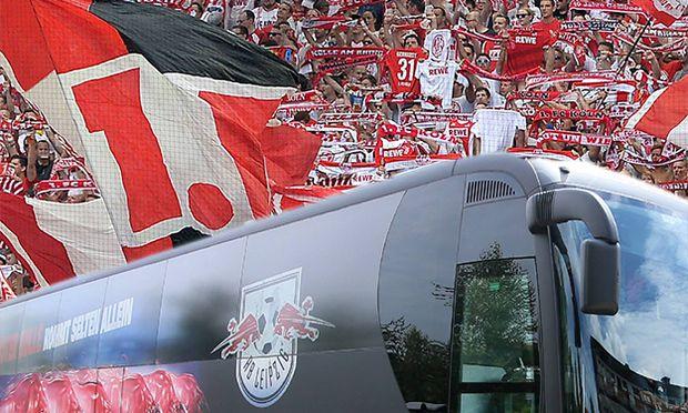 27 08 2016 xfux Fussball 1 Bundesliga 1 FC Köln SV Darmstadt 98 emspor emonline v l Fans Sti / Bild: (c) imago/Jan Huebner (imago sportfotodienst)