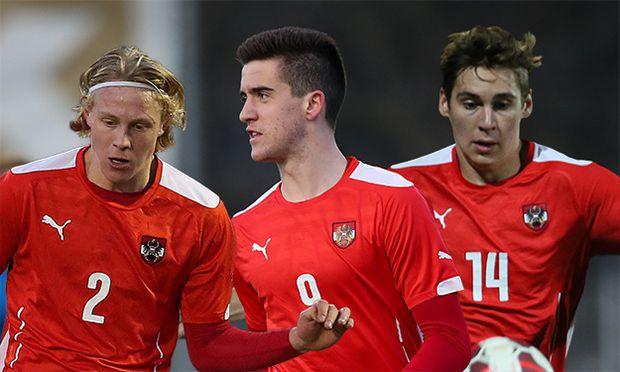 SOCCER - UEFA U19 EURO quali, AUT vs SVK / Bild: (c) GEPA pictures/ Christian Walgram