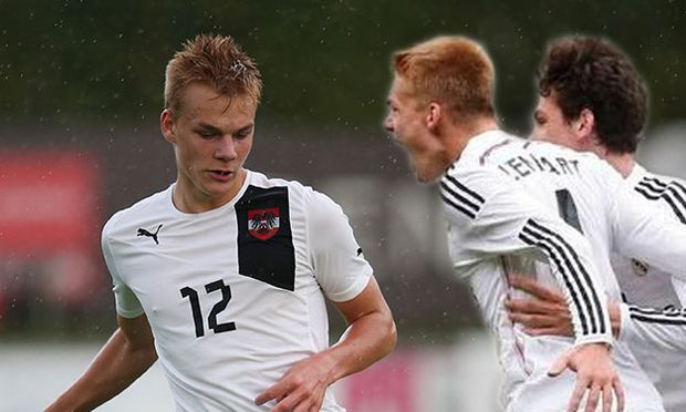 SOCCER - U19, AUT vs SUI, test match / Bild: (c) GEPA pictures/ Harald Steiner
