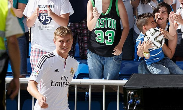 Toni Kroos Officially Unveiled At Real Madrid / Bild: (c) Getty Images (Pablo Blazquez Dominguez)